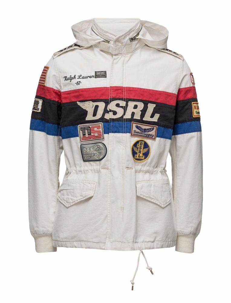149348dd516d2 Denim Supply Ralph Lauren Men Car Racing Team Crew Rally Sport Field Coat  Jacket | Clothing, Shoes & Accessories, Men's Clothing, Coats & Jackets |  eBay!