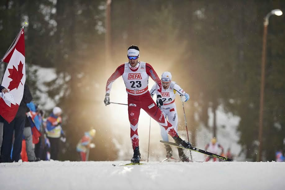 Alex Harvey and Len Valjas Charge into Top15 at World Cup