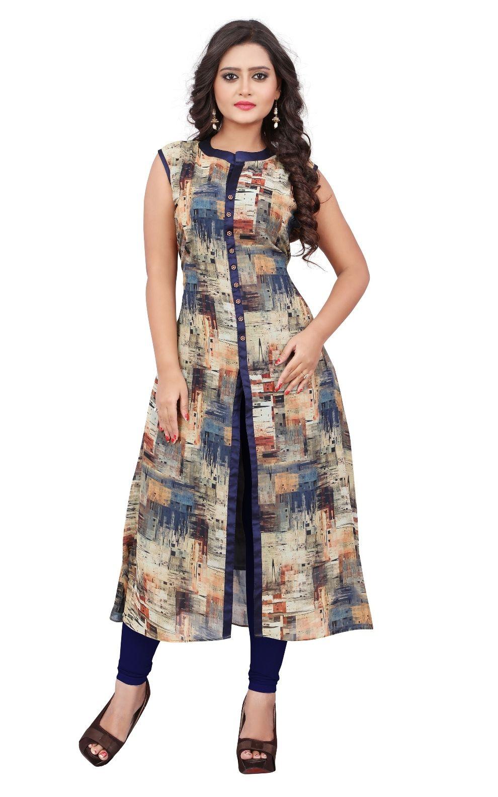 aeab913065 cotton kurti designs | dress | Printed kurti designs, Indian ...