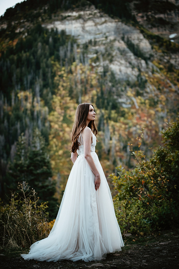 Hailey & Ty Mountain Bridals - Utah