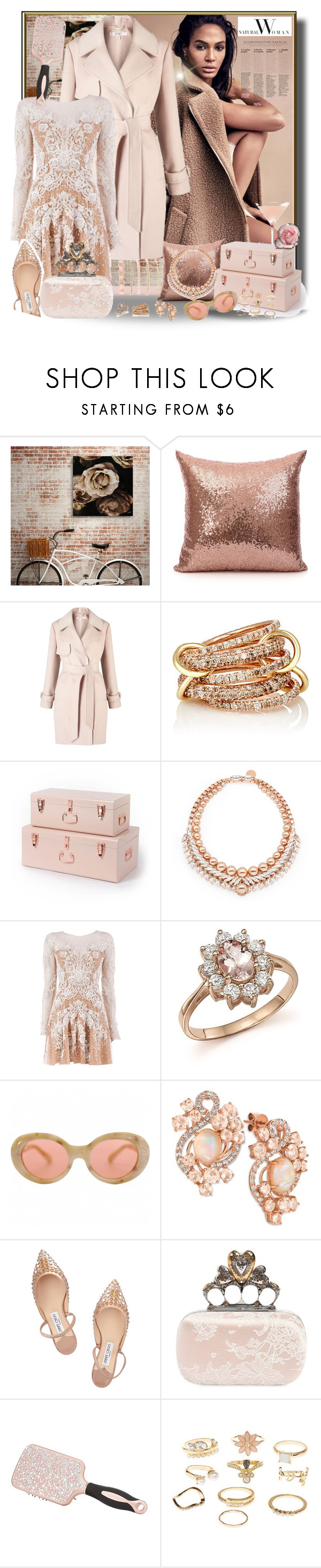 """Neutral"" by jaymagic ❤ liked on Polyvore featuring Miss Selfridge, SPINELLI KILCOLLIN, Ellen Conde, Zuhair Murad, Bloomingdale's, Acne Studios, LE VIAN, Jimmy Choo, Alexander McQueen and Charlotte Russe"