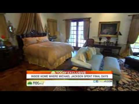 Inside Michael Jackson's Home Before Dying! (Including His Ultra-Private Bedroom) -