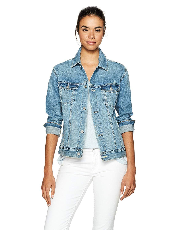 AG Adriano Goldschmied Womens The Nancy Denim Jacket