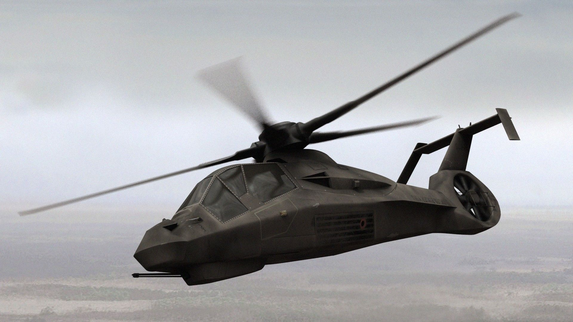 See How the Army's Would-Be Stealth Helicopter Borrowed from