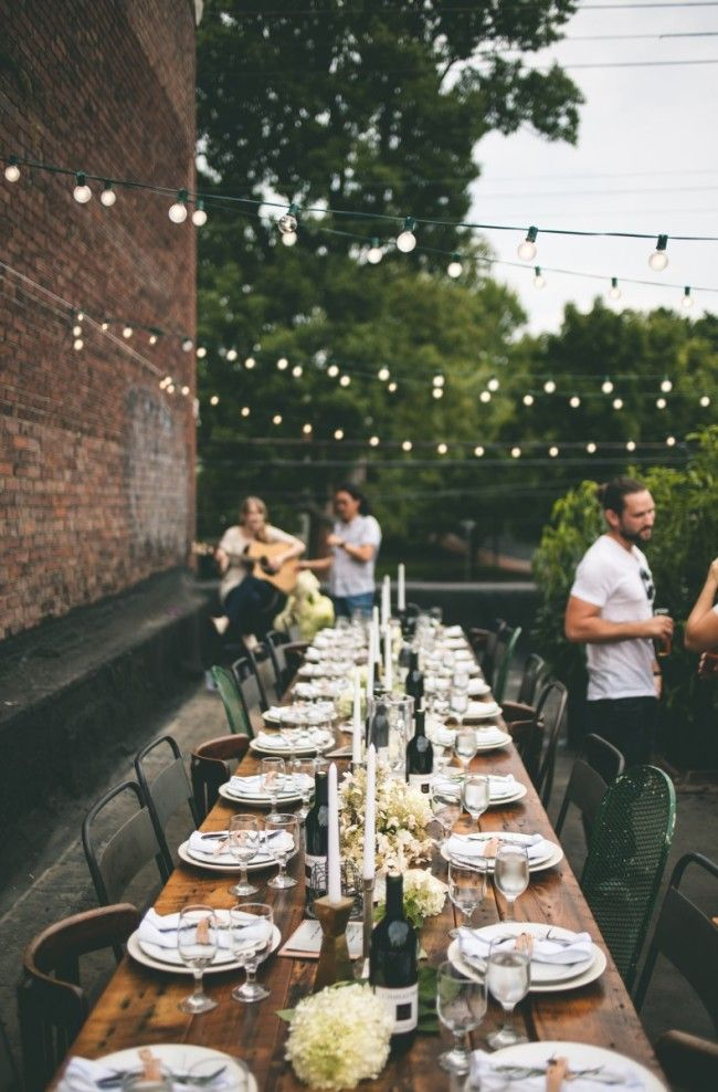 Charmant Amazing Outdoor Dinner Party Inspiration.