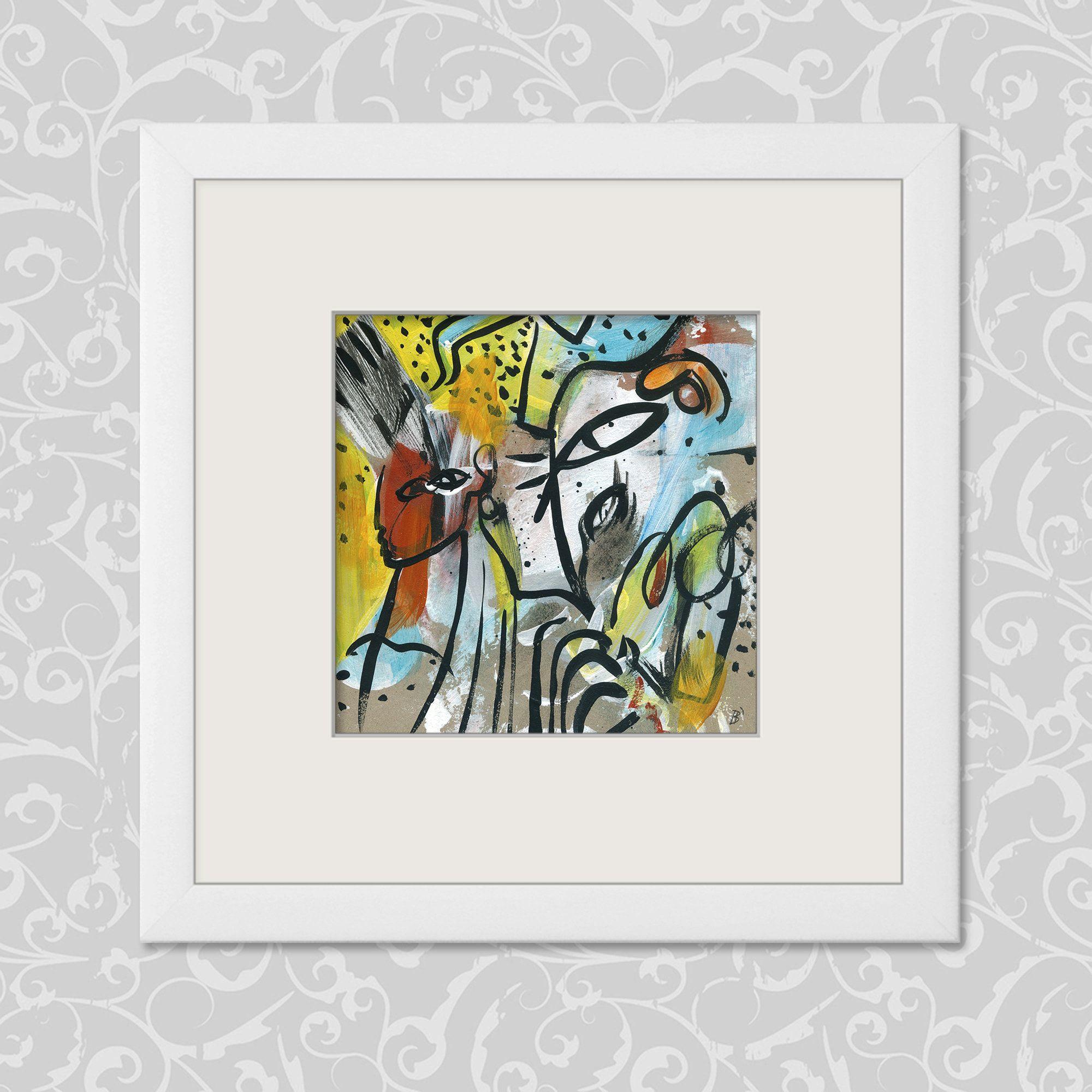 Malerei Original 20 20 Cm 7 87 7 87 Inch Kunst Abstract Painting Original Paintings Abstract