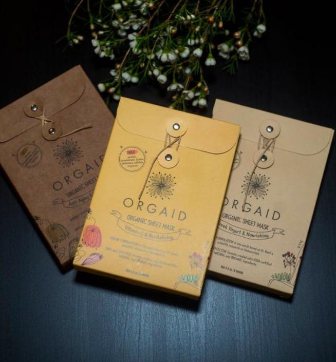 Orgaid Mask 6 Pack Orgaid, Organic sheets, Safe
