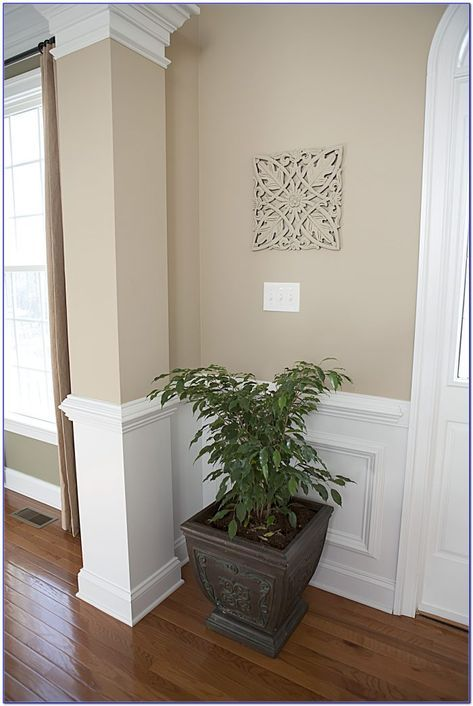Benjamin Moore Manchester Tan Paint Color Painting