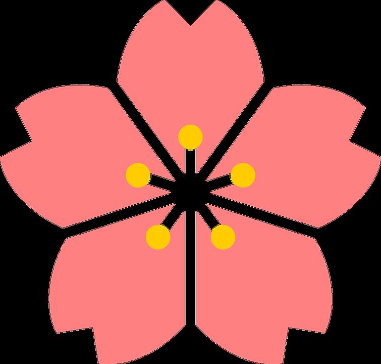 Kết quả hình ảnh cho icon hoa đào