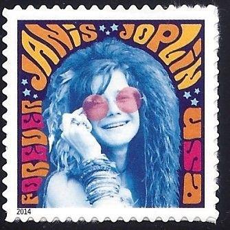 Stamp: Janis Joplin (United States of America) (Music Icons) Mi:US  5102BA,Sn:US… | Janis joplin, Usps stamps, Forever stamps