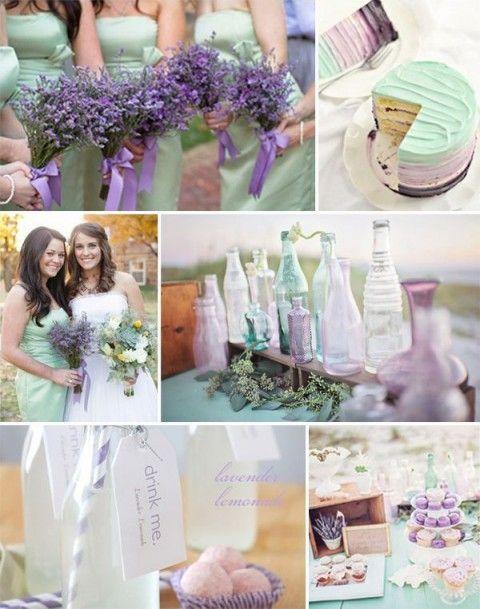 48 Delicate Mint And Lavender Purple Wedding Ideas Wedding Mint