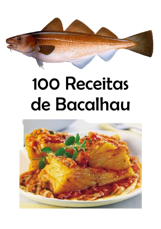 100 Receitas De Bacalhau Com Imagens Receitas Receitas De