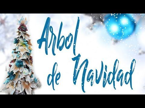ARBOL DE NAVIDAD MANUALIDADES FACILES NAVIDEÑAS - YouTube Navidad - manualidades faciles