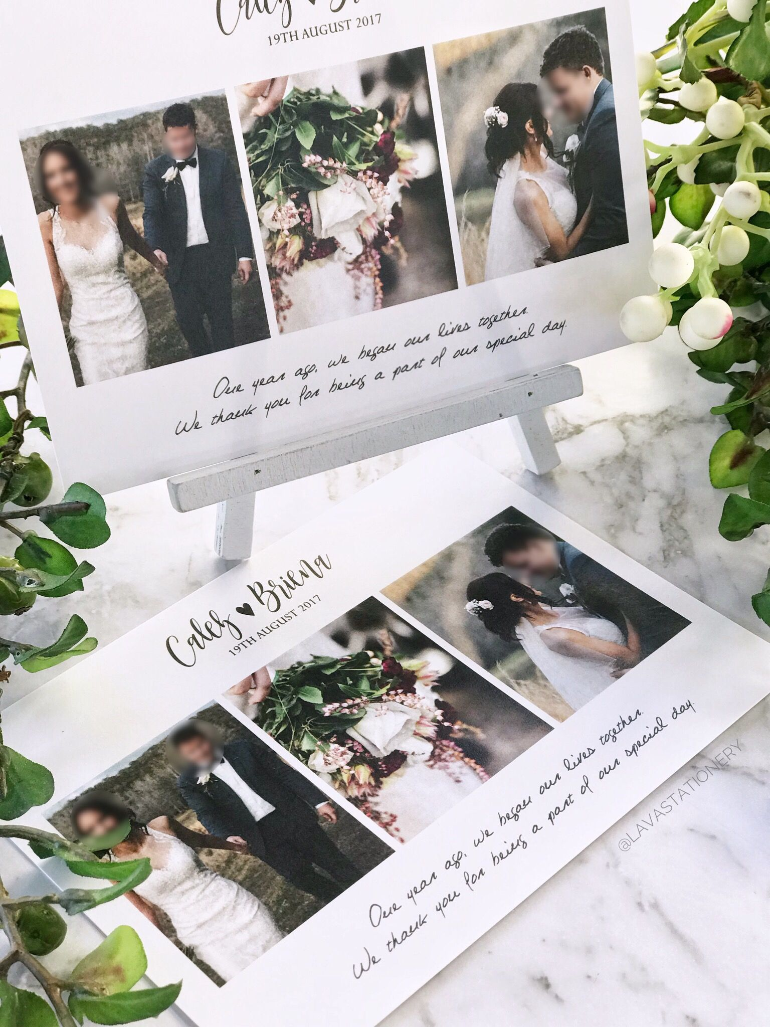 It's never too late to send your wedding thank you cards ...