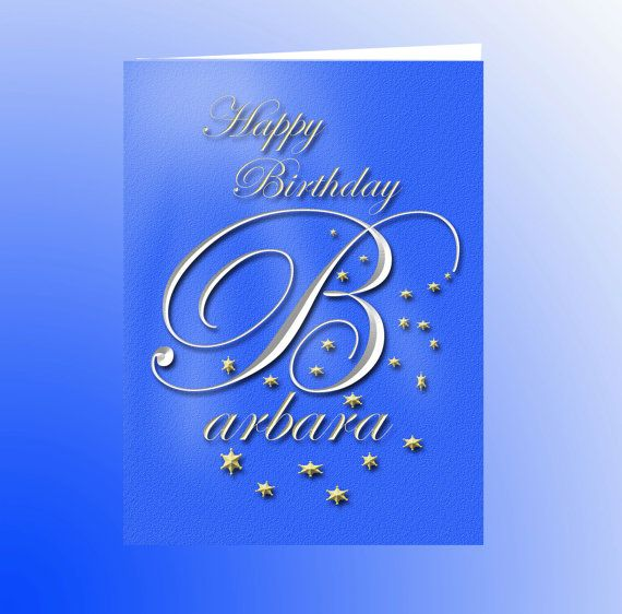 Image result for happy birthday card to barbara