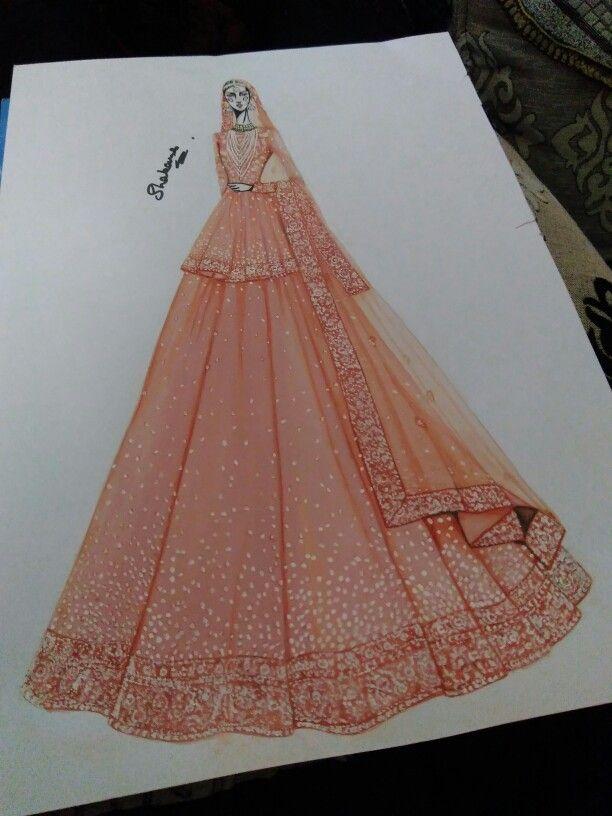 Sabyasachi Mukherjee Summer Weddings Fashion Illustration Dresses Illustration Fashion Design Fashion Illustration Sketches Dresses