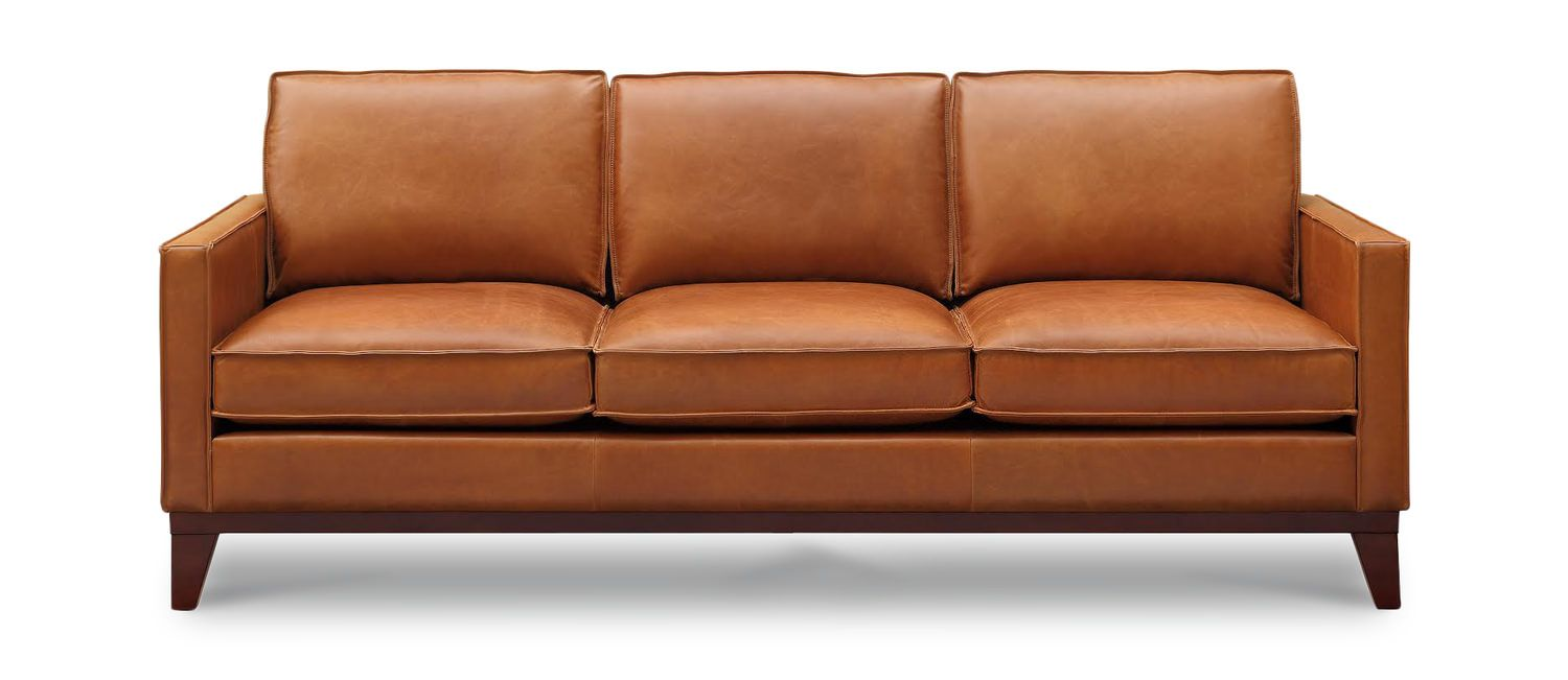 Thorpe Leather Sofa By Thomas Cole Hom Furniture Leather Sit - Manhattan-leather-studio-sofathe-perfect-leather-sofa-for-your-room