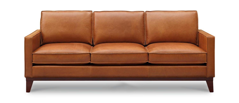 Thorpe Leather Sofa Genuine Leather Sofa Leather Sofa Comfy