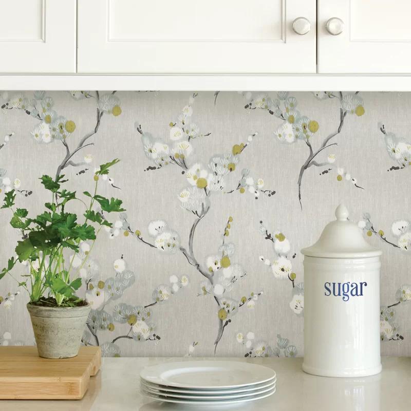 Crediton 18 L X 20 5 W Texture Peel And Stick Wallpaper Roll Peel And Stick Wallpaper Wallpaper Roll Nuwallpaper
