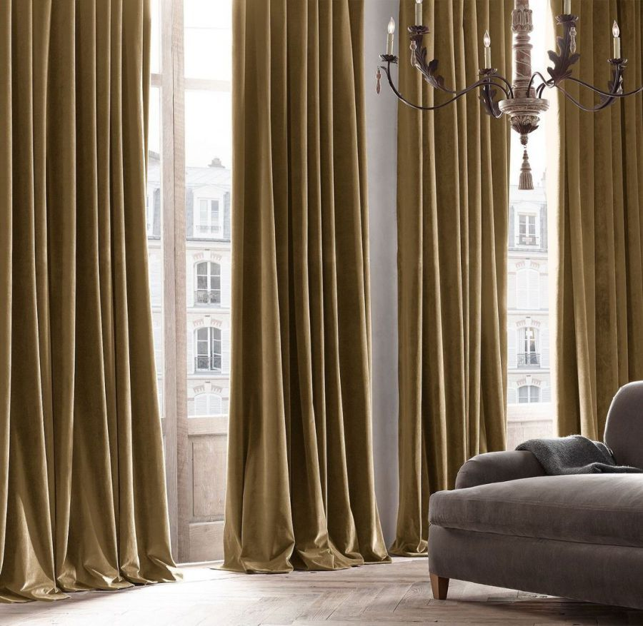 curtain crushed and big velvet curtains pin pinterest