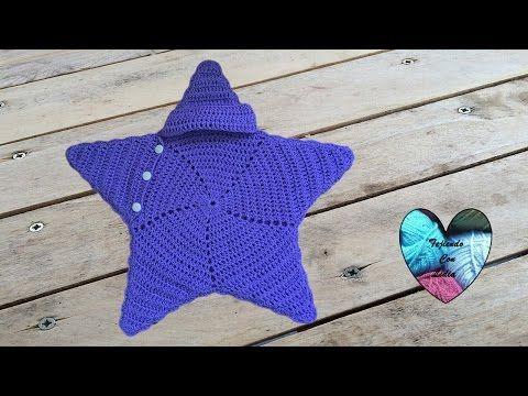 Capullo estrella tejido a crochet muy facil / Cocoon star crochet ...