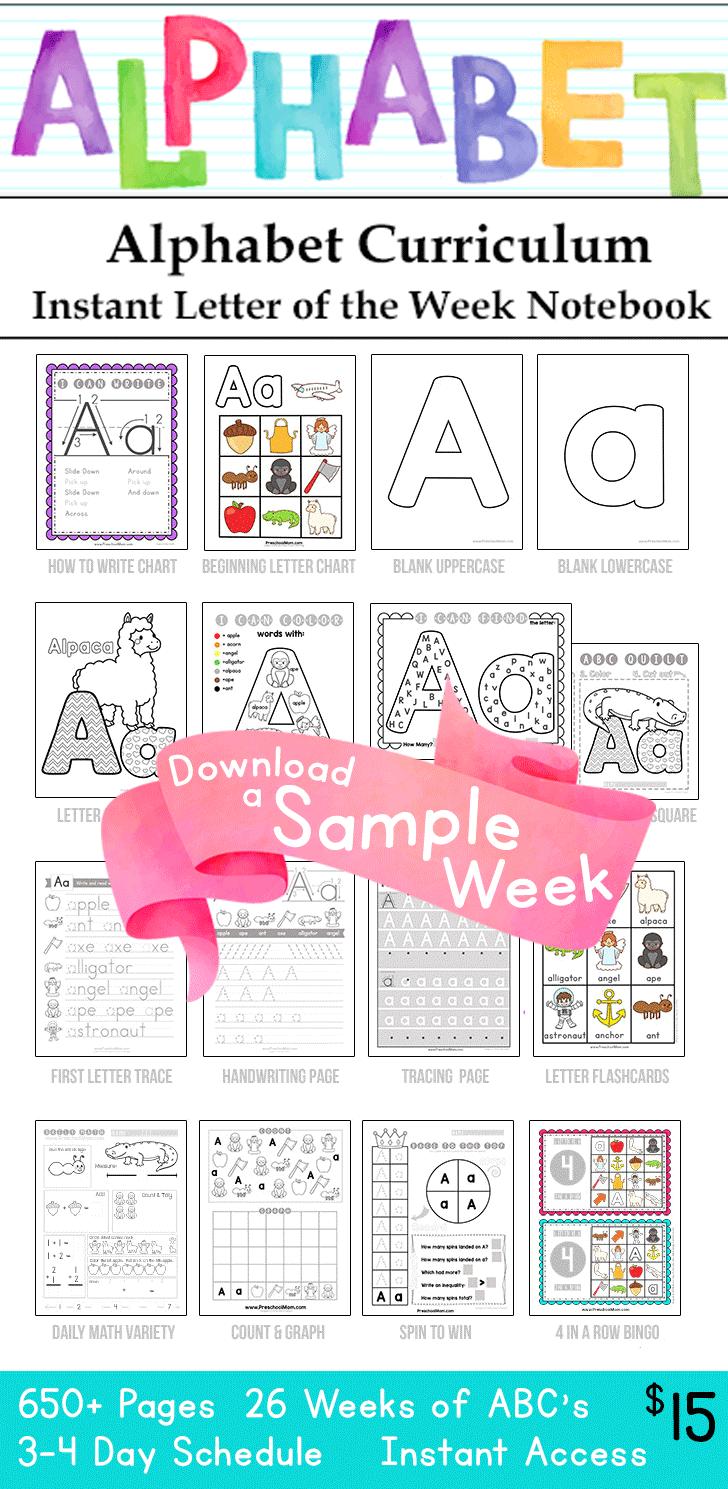 About Kindergarten Mom Alphabet Preschool Preschool Alphabet Printables Numbers Preschool Printables [ 1489 x 728 Pixel ]