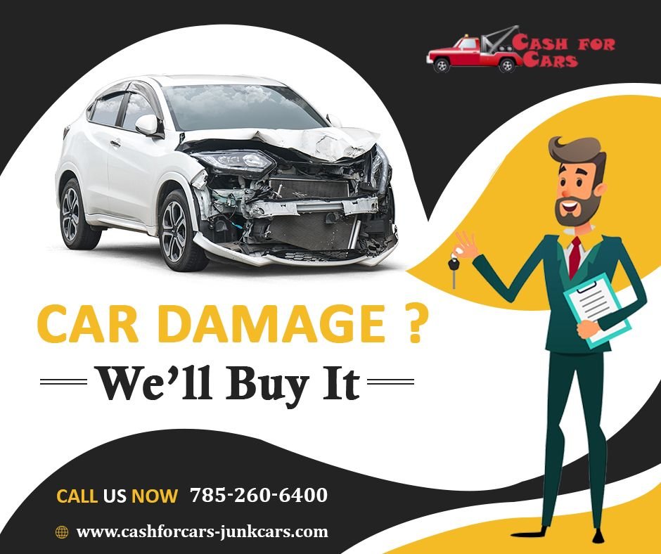 Wreck your vehicle with us and we will pay you money in