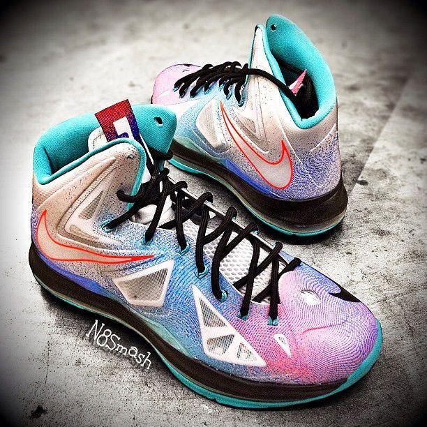 premium selection 1156c 6f120 Nike LeBron 10