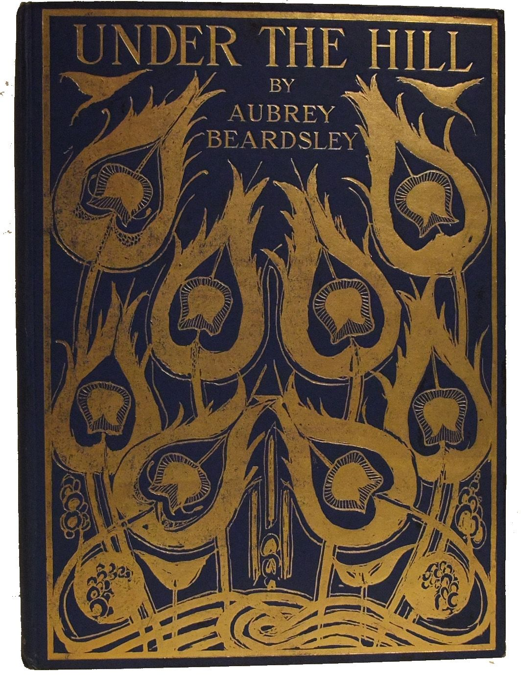 Love Aubrey Book Cover ~ Under the hill by aubrey beardsley for love of books