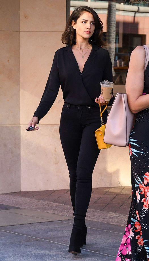 El look natural de Eiza González con el que paró el tráfico en Los Ángeles - Foto 2