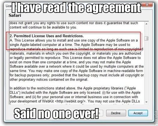 License Agreement Meme  World Of Memes    Meme And Memes