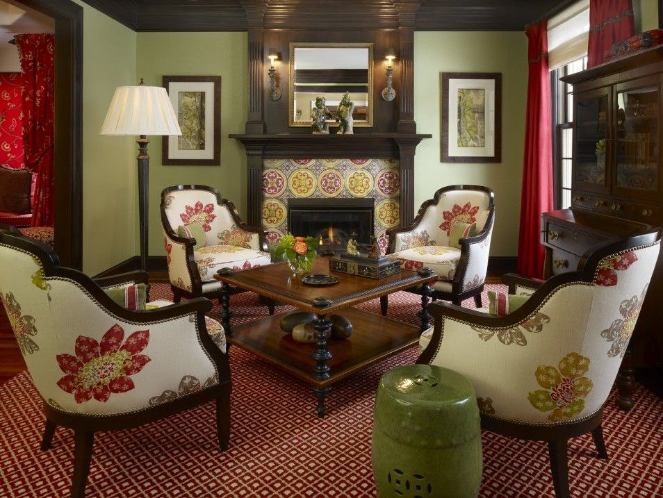 Green and red living room top dark green living room ideas - Green living room ideas decorating ...