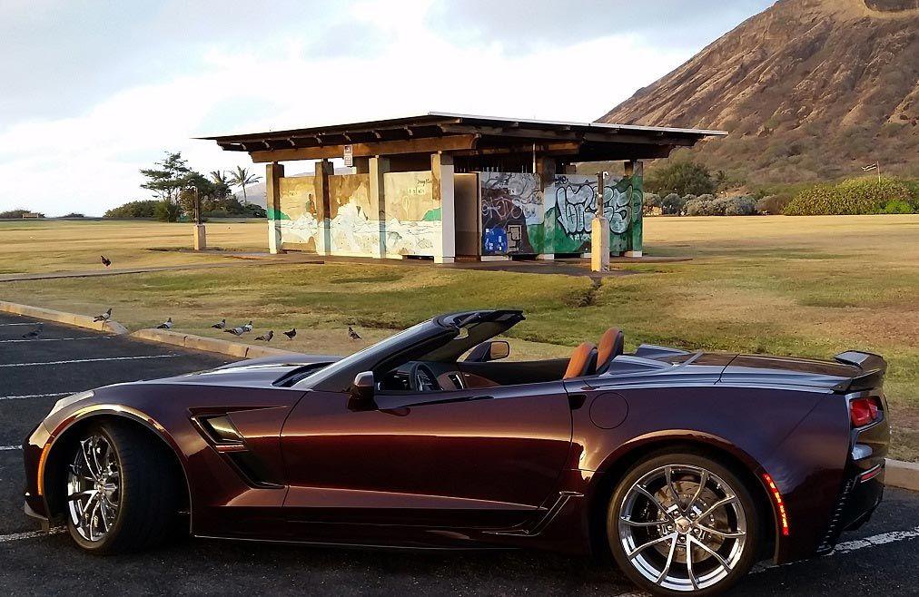 2017 Corvette Grand Sport Convertible
