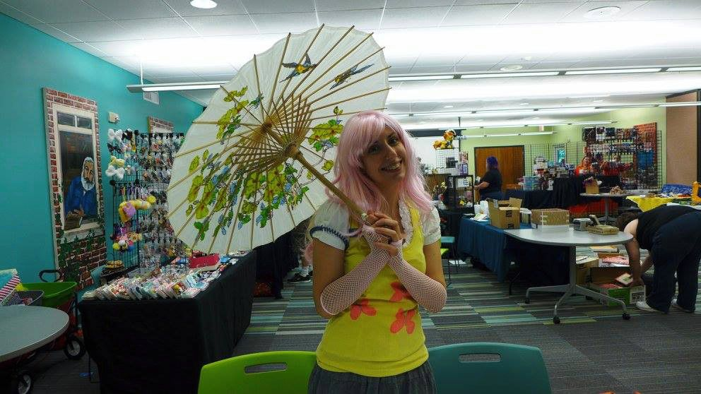 Super cool comic and anime con this weekend at the Palm
