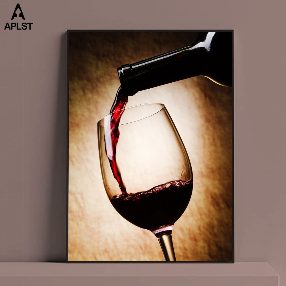 Wine Tasting Canvas Wall Art Print Wine Home Decor