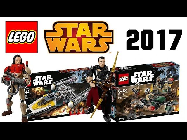 All LEGO Star Wars Winter 2017 Sets :Rogue One, Buildable Figures ...