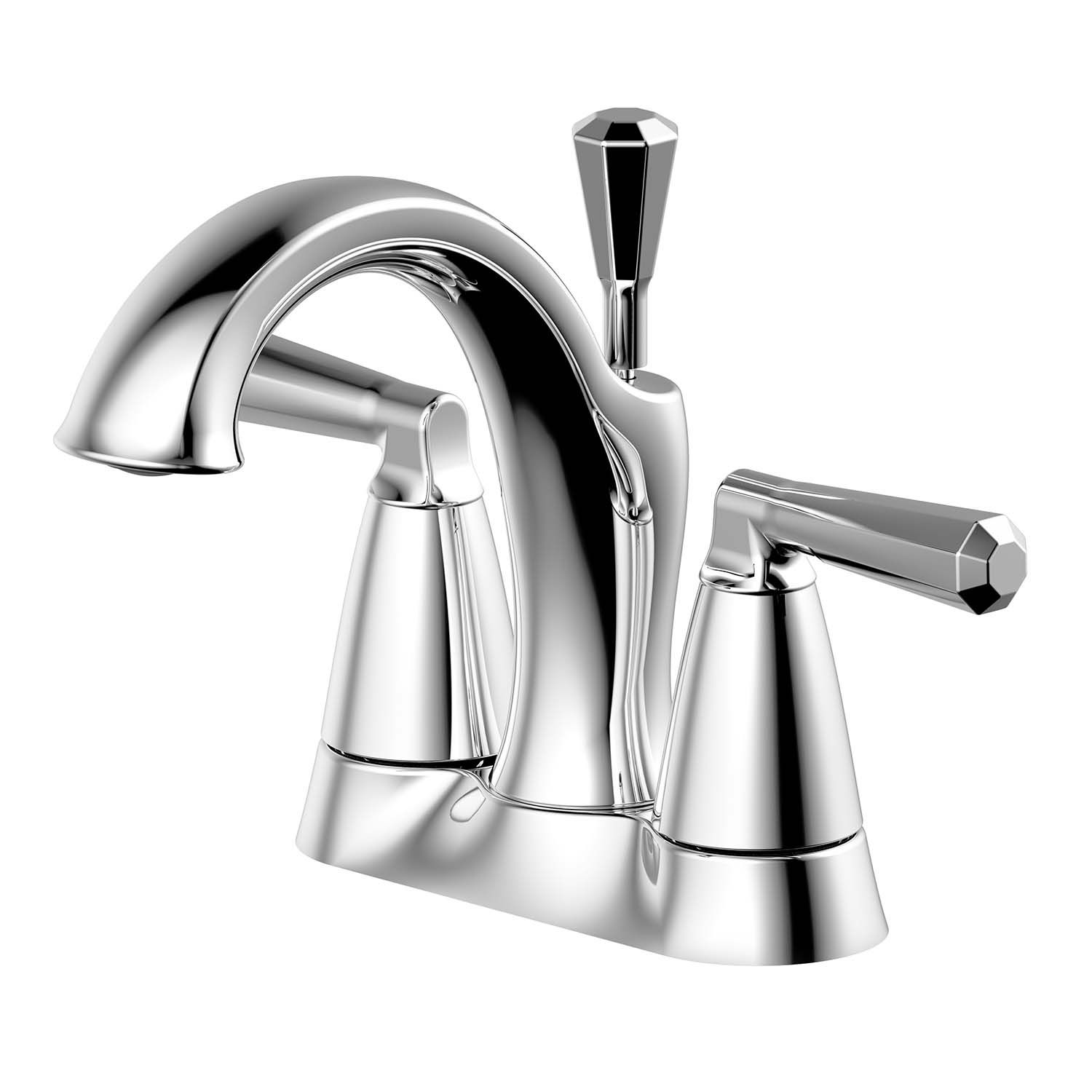 Ultra Faucets Uf45910 Z Collection Two Handle Centerset Lavatory