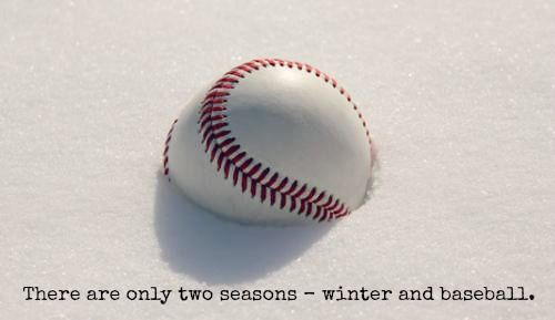 There Are Only Two Seasons Winter And Baseball And Friends We Are Almost There One Day Closer Until P Baseball Series Cardinals Baseball Nationals Baseball