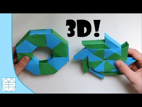 Origami 3d Ring Paolo Bascetta Youtube Fold Of Paper