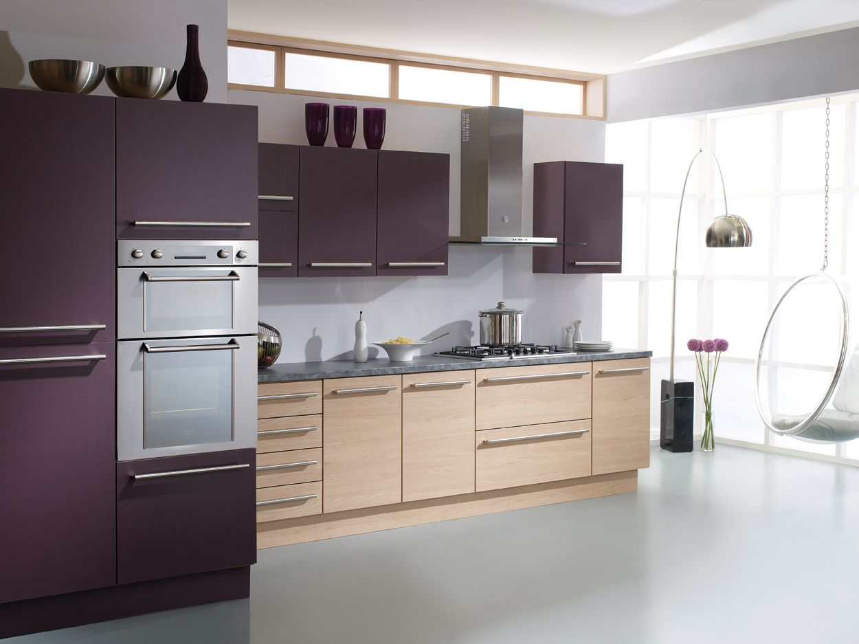 Aubergine Kitchen Plastic Kitchen Cabinets Kitchen Cabinets Kitchen Cabinet Doors