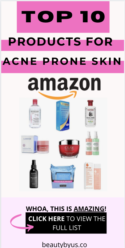 For Full List Click Here The Best Skincare Routine Products For Acne On Amazon Acne Prone Skin In 2020 Combination Skin Care Cystic Acne Treatment Best Acne Products