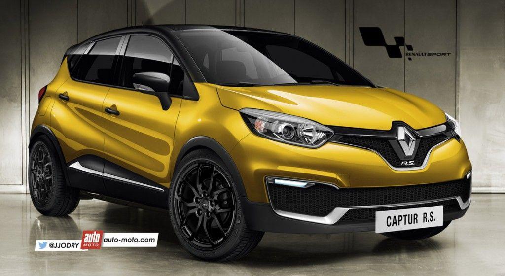 2016 Renault Captur R S Likely To Pack 200 Hp Rendering