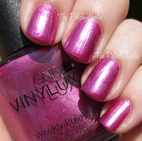 CND Vinylux Summer 2014 Paradise Collection; Sultry Sunset