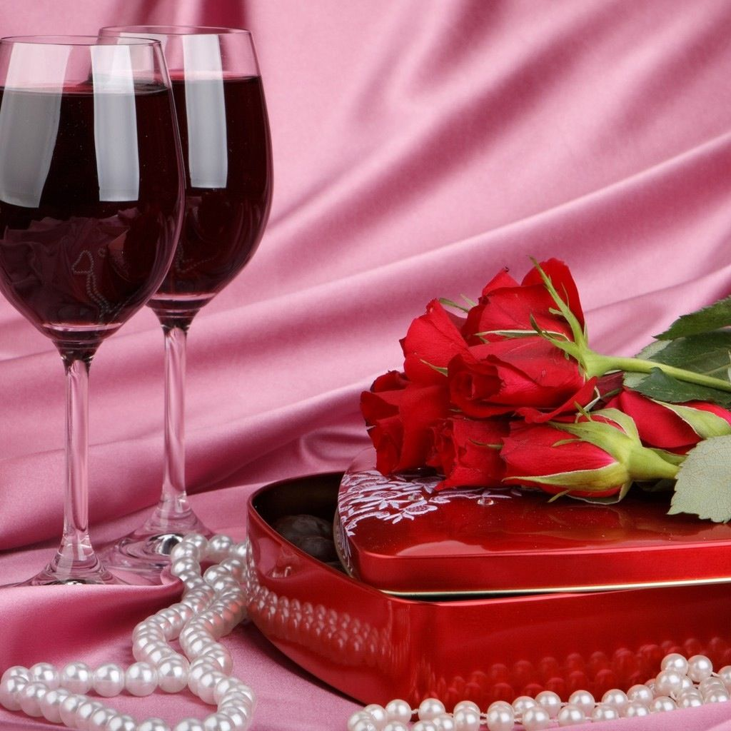 Roses And Wine Red Wine Food Cooking And Baking