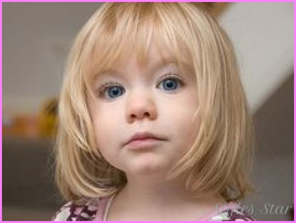 Awesome Little Girls Haircuts With Bangs Stars Style Pinterest