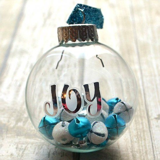 Diy Glass Ornaments: This Ornament Takes Less Than 5 Minutes To Make And Adds A