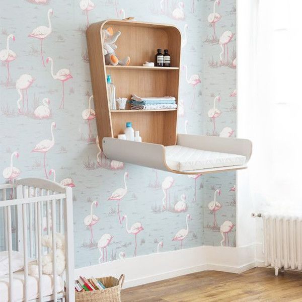 Mounted Changing Table Keeps Floorspace Open Baby Changing Table Best Changing Table Changing Table