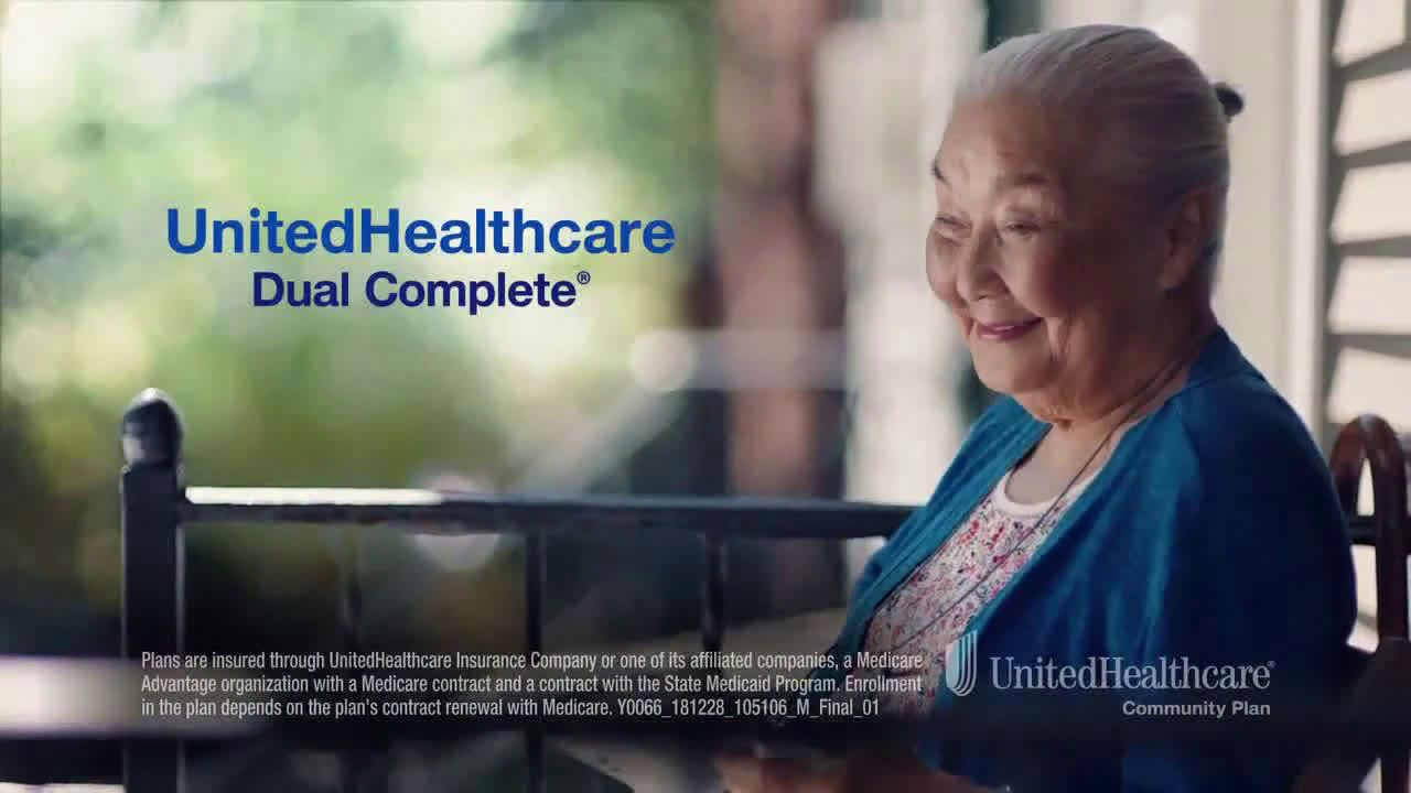 United Healthcare Dual Complete Plan More Benefits Ad