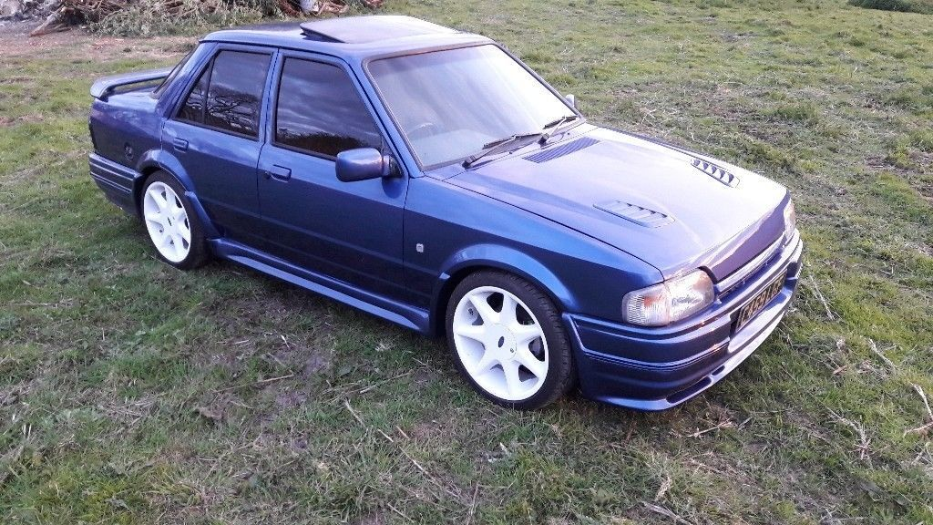 Pin By Andrew Anderson On Cars Ford Orion Ford Turbo