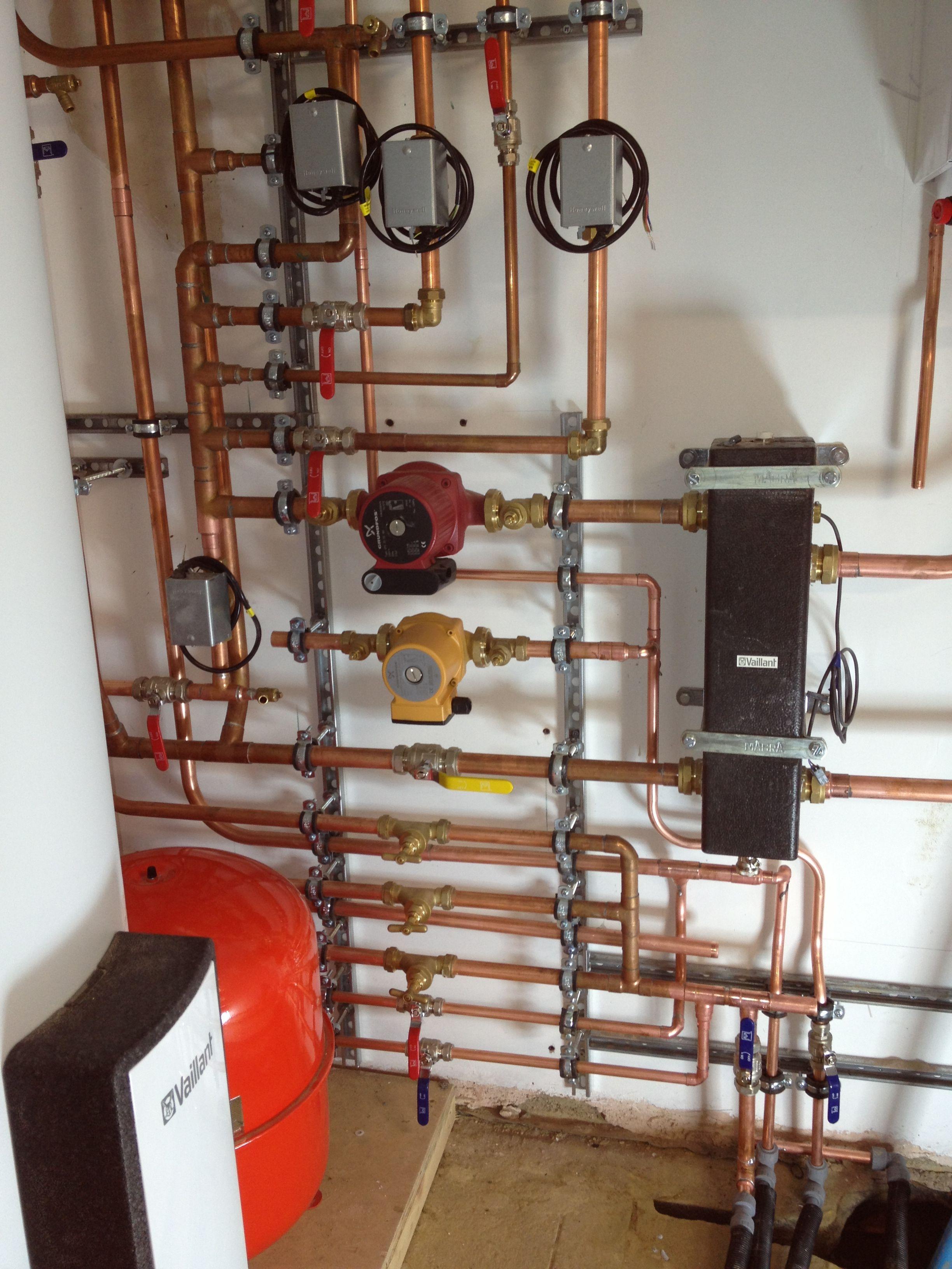 Plant room, Plumbing, Heating, gas boiler, boiler service, boiler ...